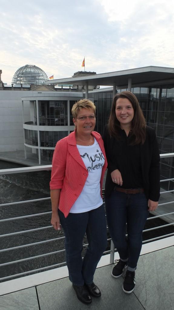Valerie Horn aus Gernsbach machte ein Praktikum bei mir in Berlin