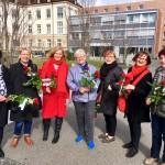 Weltfrauentag_SPD_Rosenverteilung