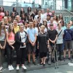 Abschlussfahrt der Karlschule Rastatt, Juli 2018