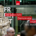 """""""Wir wollen mehr Demokratie wagen."""""""