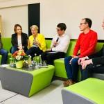 Engagierte Diskussion  zum Thema Digitale Zukunft