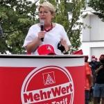 Bei der Kundgebung in Bühl.