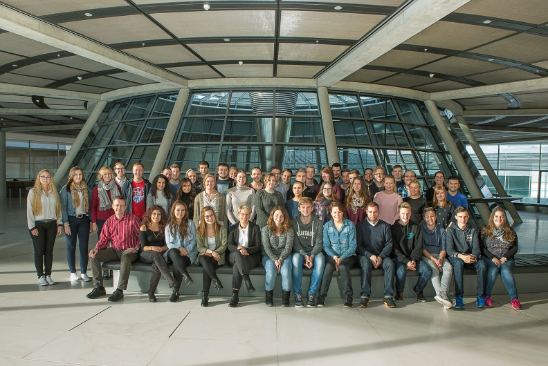50 junge Engagierte zu Besuch in Berlin