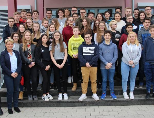 Zu Besuch bei der Maria-Gress-Schule in Iffezheim
