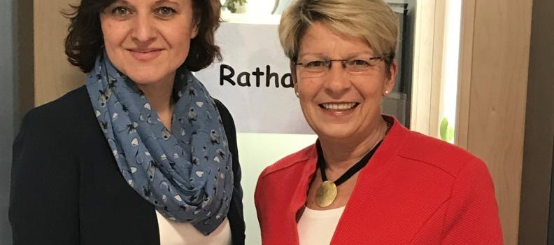 Im Gespräch mit Bürgermeisterin Veronika Laukart (Au am Rhein)