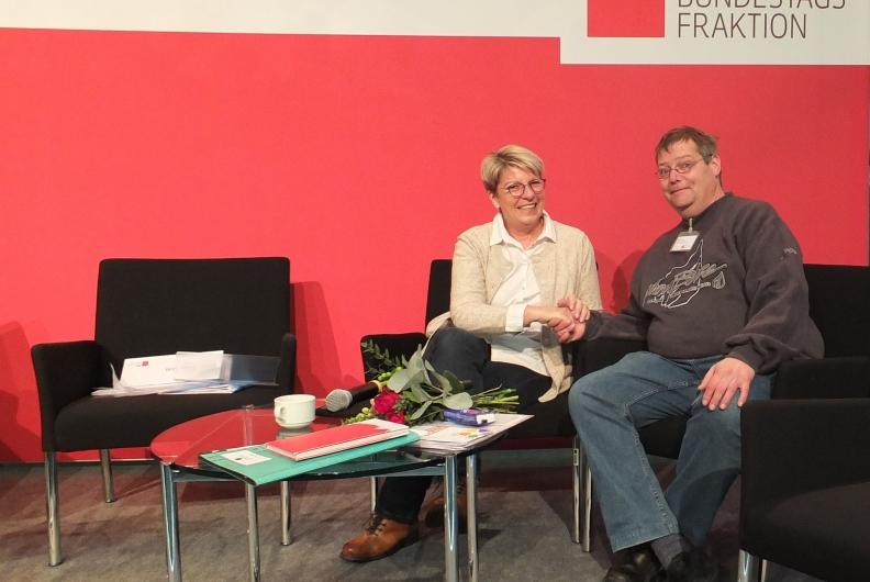 Werkstatträtekonferenz: Vertreter der Murgtal-Werkstätten diskutieren im Bundestag