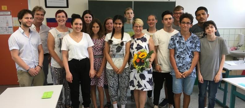 Zu Besuch im Sonderpädagogischen Bildungszentrum in Baden-Baden