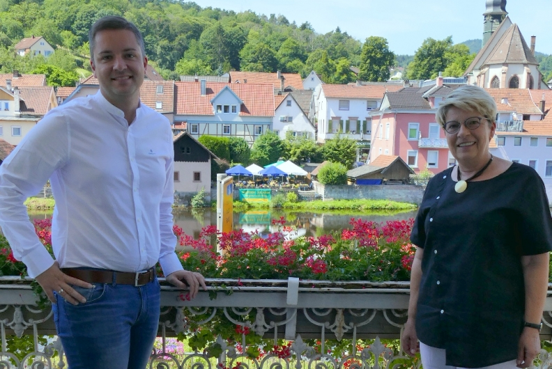 Sommertour: Gespräch mit Bürgermeister Julian Christ