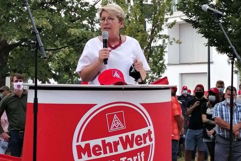 IG Metall-Kundgebung in Bühl