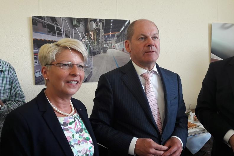 Olaf Scholz zu Gast in Gernsbach