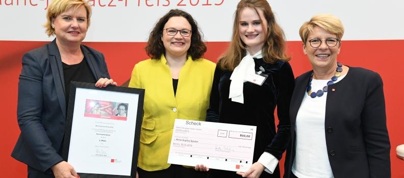 Rede von Anne Sophie Spieler aus Waghäusel – 2. Platz im Kreativwettbewerb des Marie-Juchacz-Preises