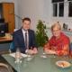 Zu Gast bei Bürgermeister Daniel Retsch in Weisenbach