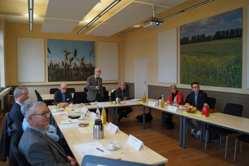 Besuch des Landwirtschaftlichen Technologiezentrums Augustenberg