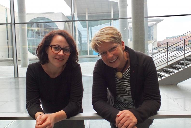Gewerkschaftsjuniorin Laura Schuh hospitiert bei mir im Bundestag