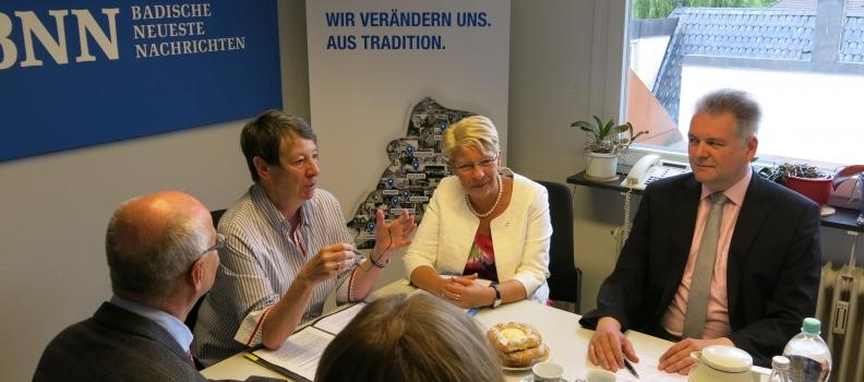 Barbara Hendricks zu Besuch in Baden-Baden: Die Landesregierung muss sich beim Thema PFC bewegen!