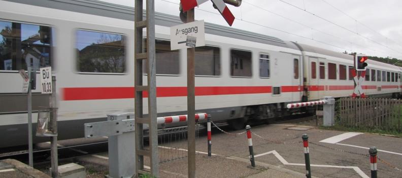 Ertüchtigung von gefährlichem Bahnübergang überfällig
