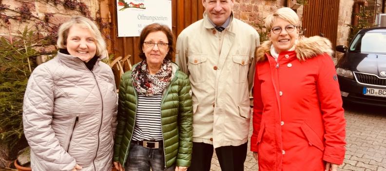 """Katja Mast und ich besuchten den Inklusionsbetrieb """"Aspichhof"""" in Ottersweier"""