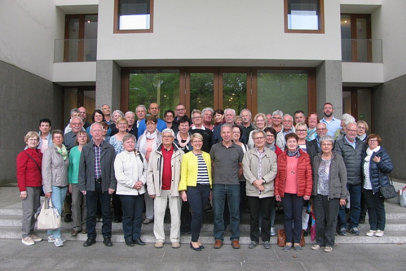 Besuchergruppe aus dem Wahlkreis zu Gast in Berlin