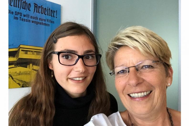 Politik hautnah erlebt – ein Praktikumsbericht von Nina Brandt