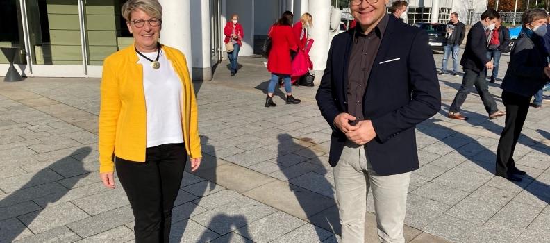 Erneute Nominierung als SPD-Kandidatin für den Bundestag