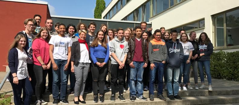 Gespräch mit dem Wilhelm-Hausenstein-Gymnasium