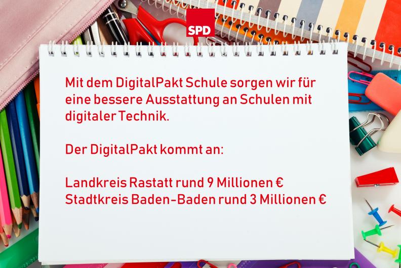 Der DigitalPakt Schule kommt an!