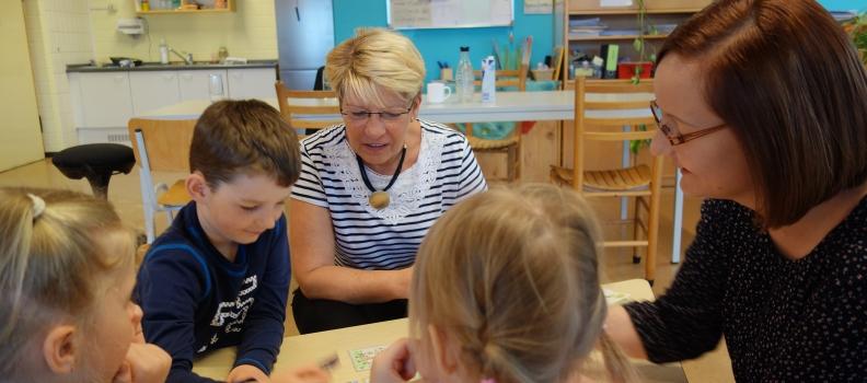 """Gabriele Katzmarek besucht Sprach-Kita """"Windspiel"""" in Hügelsheim"""