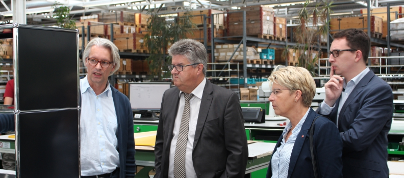 Gabriele Katzmarek startet Sommertour in Bühl – Wirtschaft und Arbeit im Mittelpunkt