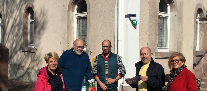 Gabriele Katzmarek lädt ein zur AnsprechBAR in Ottersweier, Lichtenau und Rheinmünster