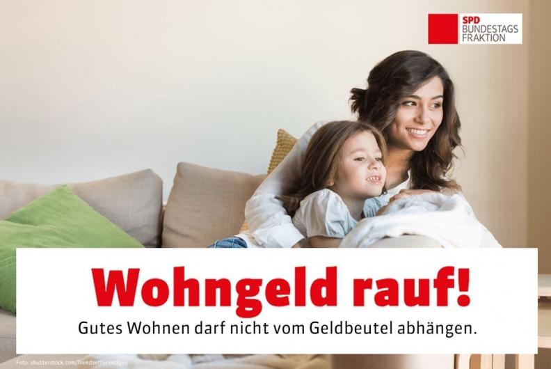 SPD stärkt Wohngeld