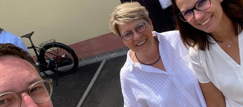 Staatssekretärin Rita Schwarzelühr-Sutter war zu Gast in Rastatt