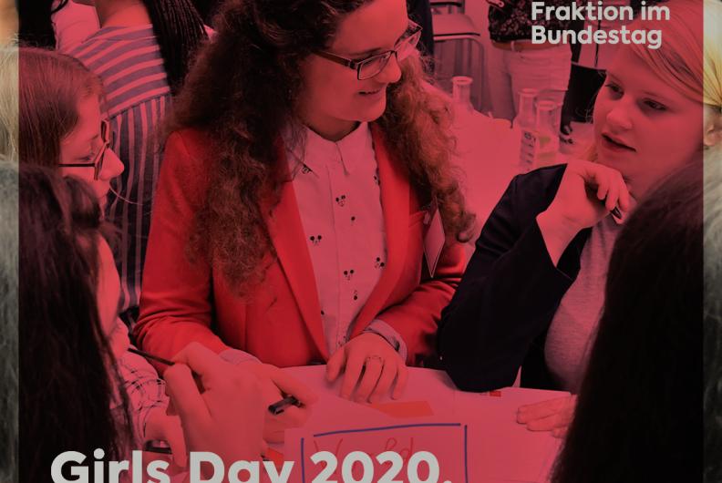 Jetzt bewerben – Teilnehmerin für den Girls' Day 2020 gesucht