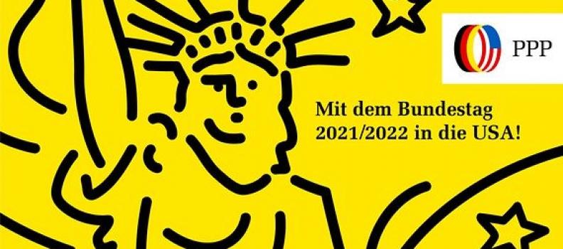 Mit dem Bundestag 2021/2022 in die USA