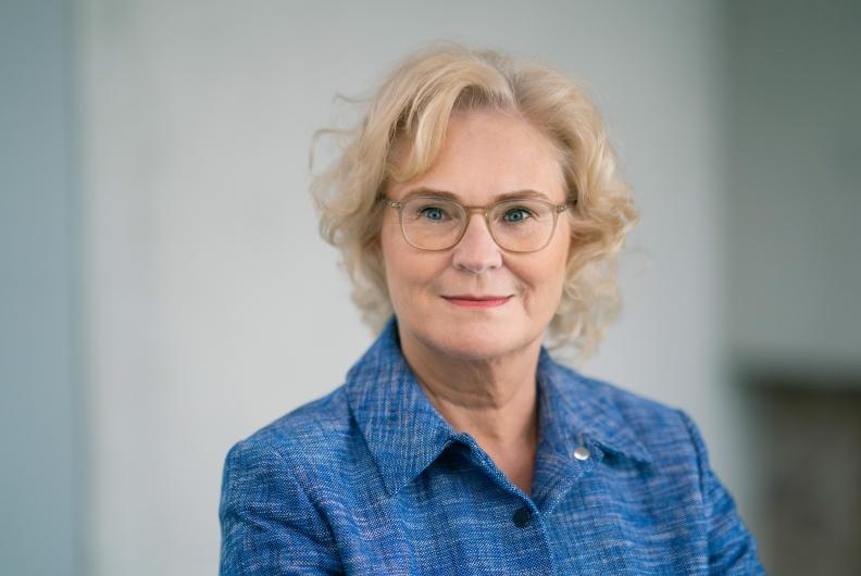 Bundesjustizministerin Christine Lambrecht zum Sommergespräch in Rastatt